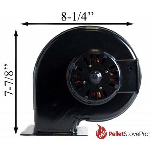St croix pellet stove room air convection blower fan for Convection oven blower motor