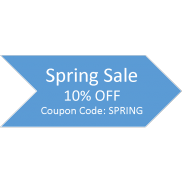 Sping Sale! 10% OFF