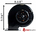 Blaze King Convection Axial Fan Motor Blower Z7005