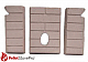 Whitfield Pellet Firebrick Cerra Advantage II 2 - 16-1021 G