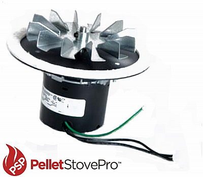 """Whitfield Pellet Stove T300P2 Exhaust Combustion Blower 7"""" Flnge  101111 G"""