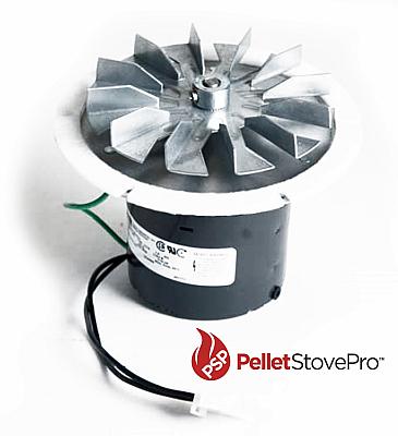 Napoleon Pellet Heater Exhaust Combustion Motor Blower w/ Gasket  101114 MFR