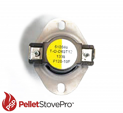 Breckwell Gas & Pellet Low Limit Switch F120 3/4 inch, F01120