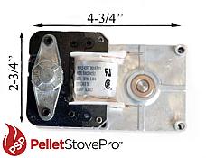 US U.S. Pellet Stove 1 RPM Auger Motor - 100% MONEY BACK GUARANTEE - 812-0170 MFR