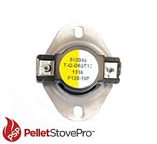 Enviro Pellet Low Limit Switch F120 (3/4 inch) - 13-1122 FC
