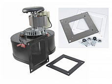 Breckwell Pellet Stove Convection Motor Blower w/ Adapter Plate,  A-E-033A, C-E-033