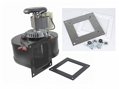 Breckwell Pellet Stove Convection Motor Blower w/ Adapter Plate,  AE033A, CE033