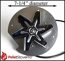 Breckwell P28 Pellet Stove Exhaust Combustion Blower - 812-2510 G