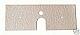 Austroflamm Pellet Stove Lower Cast Wall Gasket - 104066 G