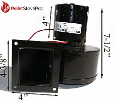 Avalon Pellet Stove Convection Motor Blower D-126 - 11-1210 G