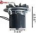 Lennox Pellet Stove Exhaust Motor Blower w/Gasket  101114 MFR