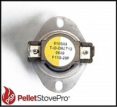 Breckwell Pellet & Gas Low Limit Switch Thermodisc 3/4 inch 80381