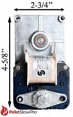 Whitfield Pellet Auger Motor 1 RPM 12046300