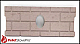 Whitfield Pellet Firebrick Cerra Board for Quest (Oval) - 16-1018