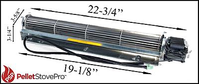 Austroflamm Integra II Pellet Convection Blower 2006+  N111570 G