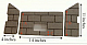 Whitfield Pellet Firebrick Cerra Profile 30 Optima 3 - 16-1014 G