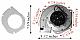 Whitfield Pellet Exhaust Combustion Motor Blower w Housing & Gasket - 12056010