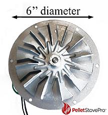 Harman Harmon Pellet Stove Exhaust Motor w/ Gasket - 10-1114 MFR