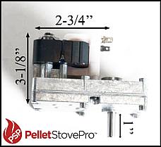 Pel Pro, Danson, Glo Boy, Vulcan Pellet Auger Motor - 812-1220 MFR KS-5010-1010