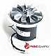 Whitfield Pellet Stove Exhaust Motor Blower w/ Gasket - 10-1114 MFR - 12056010