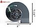 Whitfield Convection Fan, Advantage, Profile, Traditions, Legend FASCO 702111382, 12146109, 12126109