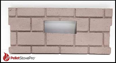 Whitfield Pellet Firebrick Cerra Board for Quest (Square)  OEM Part  161016 G  17250029