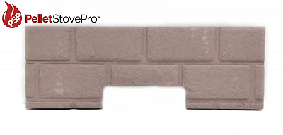 Whitfield Pellet Stove Firebrick Cerra Board for Cascade  17150025