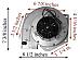 KS50201040 Danson Pellet Exhaust Combustion Motor Blower w/ Housing 101113 G
