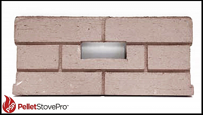 Whitfield Pellet Stove Firebrick Cerra Board for Profile 20, Optima 2  14650011
