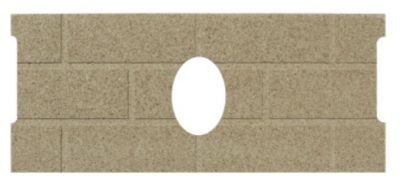 Whitfield Quest Cerra Board Firebrick (Oval) 13646500