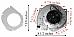 Winslow Pellet Exhaust Combustion Motor Blower w Housing & Gasket H6018