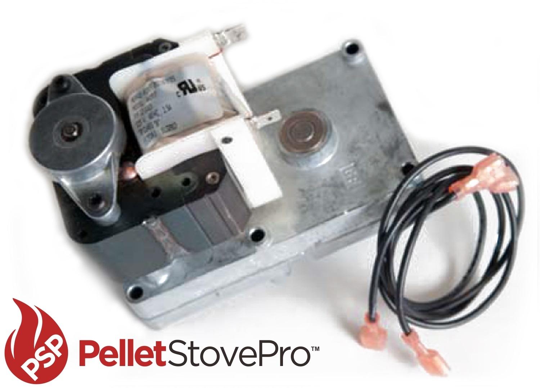 Auger Motor For Harmon Harman Pellet Stove 4 Rpm Turns
