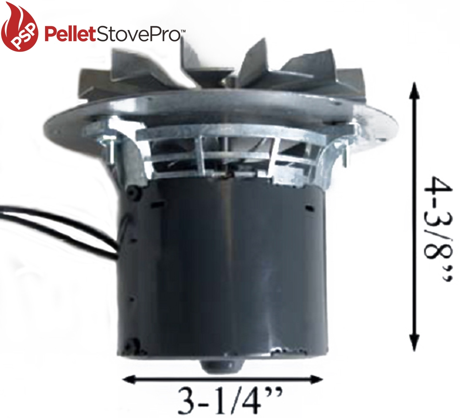 Whitfield Pellet Stove Exhaust Combustion Motor Blower W