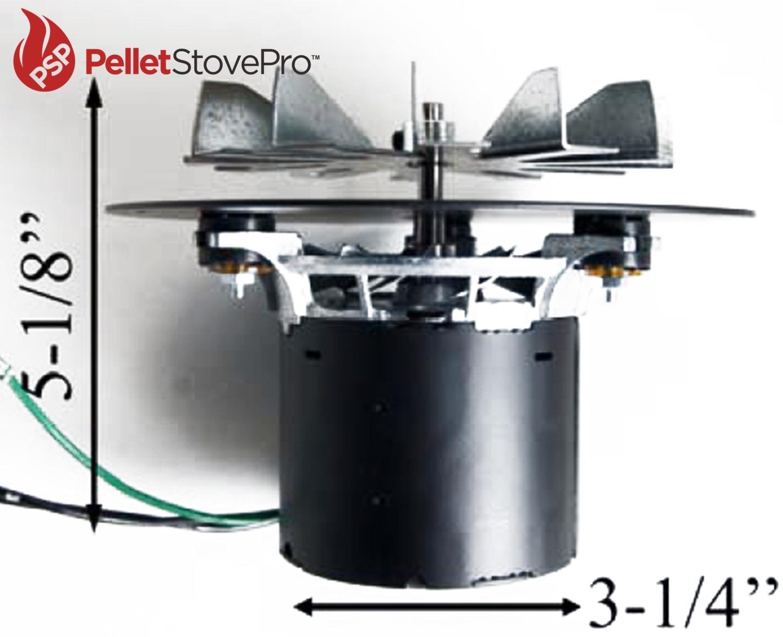 Whitfield Pellet Exhaust Combustion Motor Quest Plus