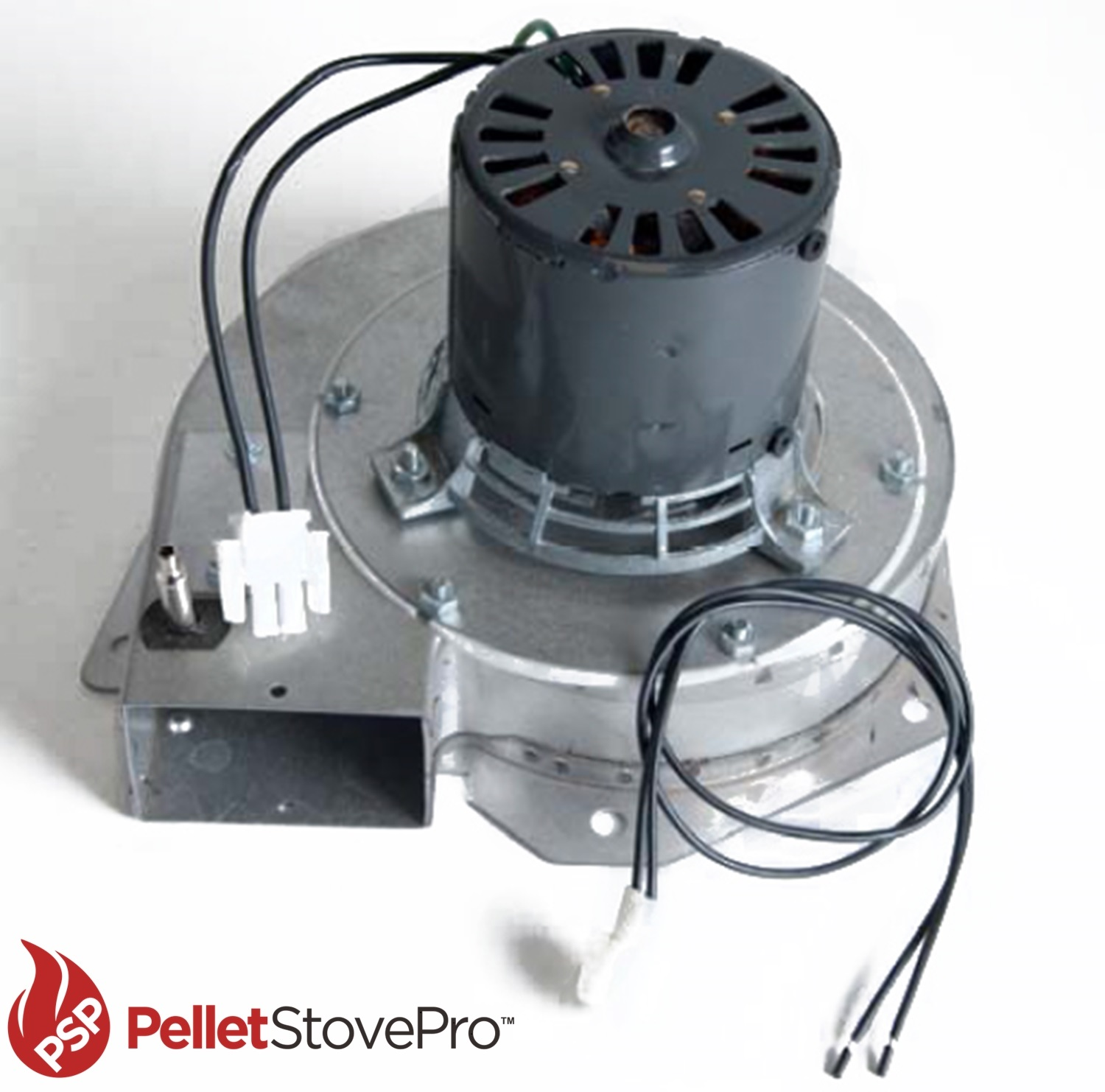 Oven Fans And Blowers : Aladdin pellet stove exhaust motor blower w housing