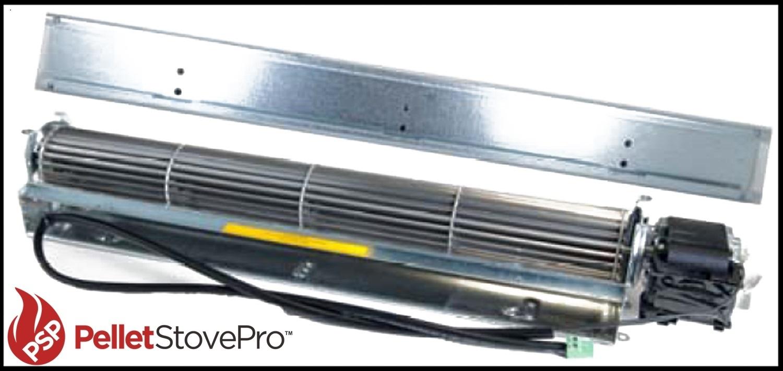 Pre 2006 austroflamm integra pellet convection blower w for Blower motor mounting bracket